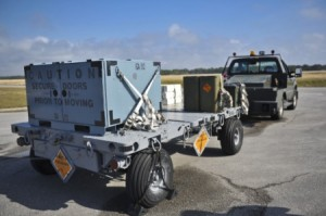 Munition Trailer U.S. Air Force photo:Staff Sgt. John Bainter)